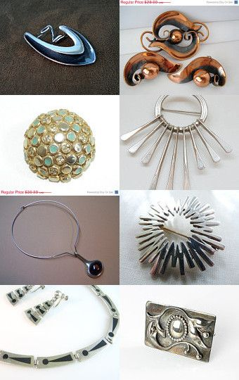Modernist Metal Magic by Lisa Schwartz on Etsy--Pinned with TreasuryPin.com