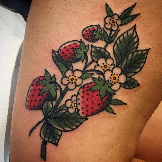Plant Tattoo Sleeve Leaves