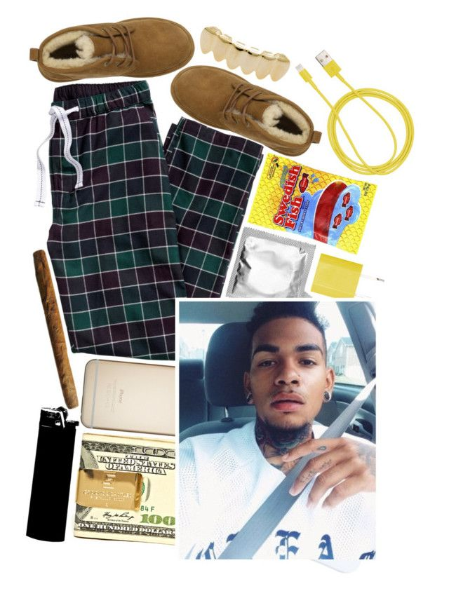 """girl I'm out here , getting to the money , blowing these hunnids ."" by e-thropix ❤ liked on Polyvore featuring UGG Australia, PhunkeeTree and NIKE"