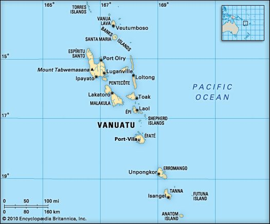 Vanuatu location South Pacific Pinterest Vanuatu Island