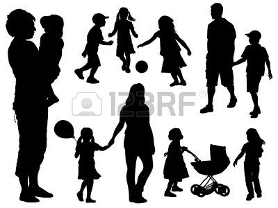 20+ Parents Clipart Black And White