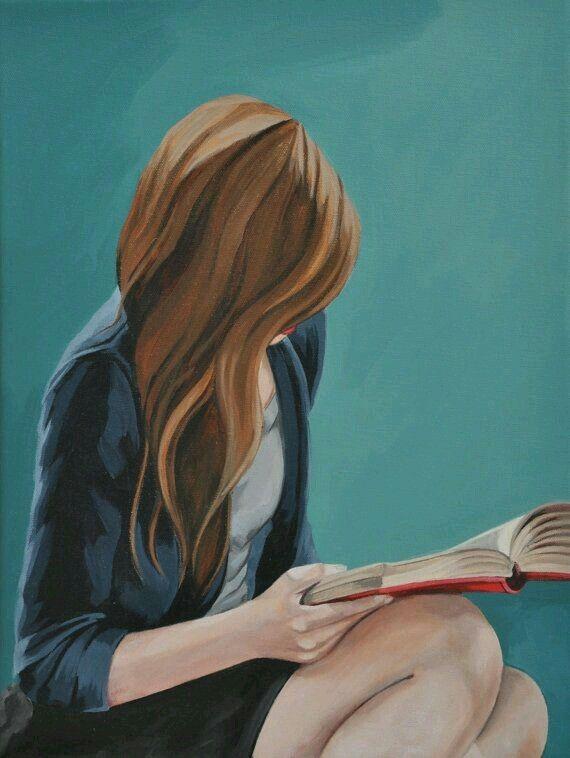 Pin By Maria On Creative Charming Art Girly Art Reading Art