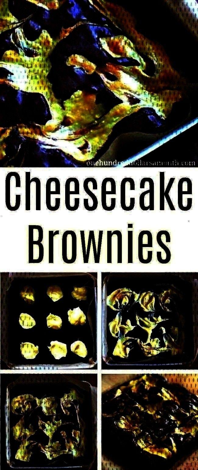 Hundred Dollars a MonthEasy Dessert Recipes - Cheesecake Brownies - On...Easy Dessert Recipes - Che