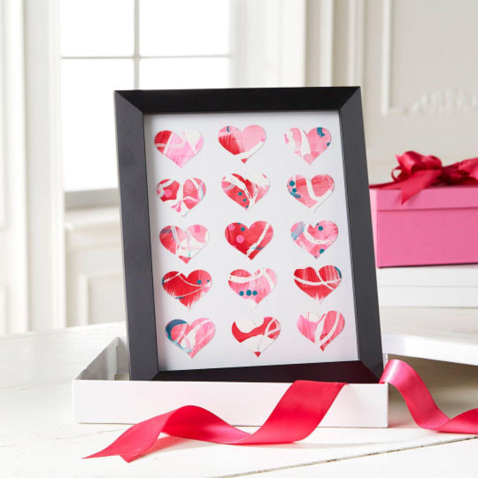 Diy Easy To Make Valentines Day Frame