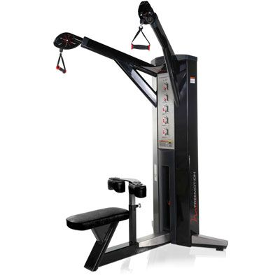 freemotion lat machine  at home gym strength training