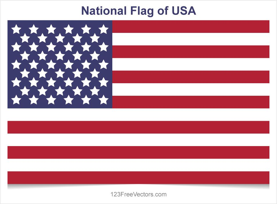 Usa Flag Vector Flag Vector Usa Flag Flag