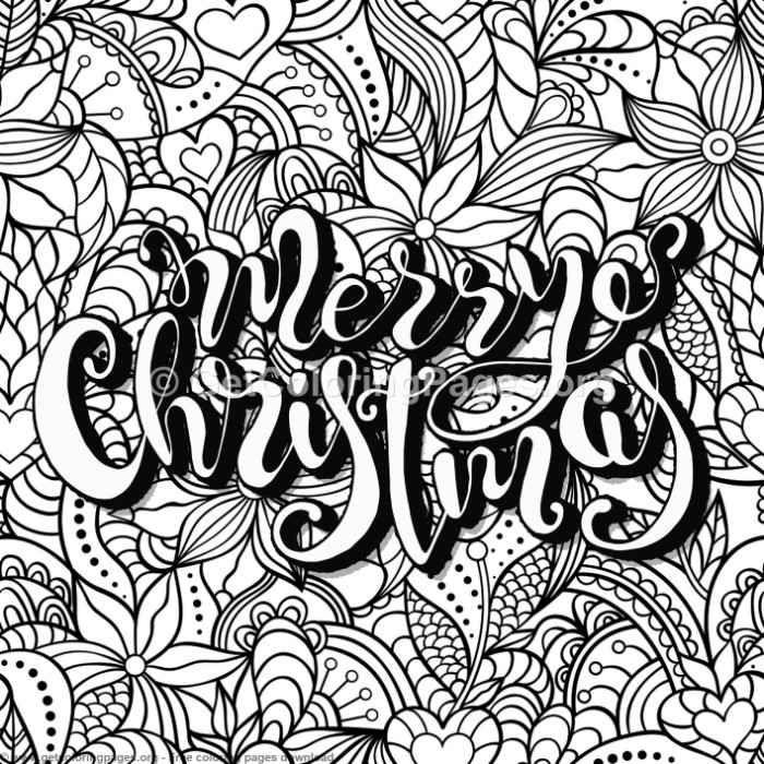 zentangle merry christmas coloring pages getcoloringpagesorg coloring coloringbook coloringpages coloringbooks christmas