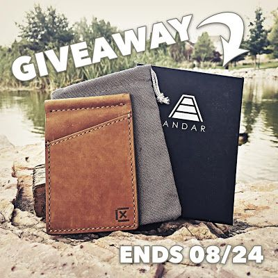 Win a tan Andar Griffin Wallet