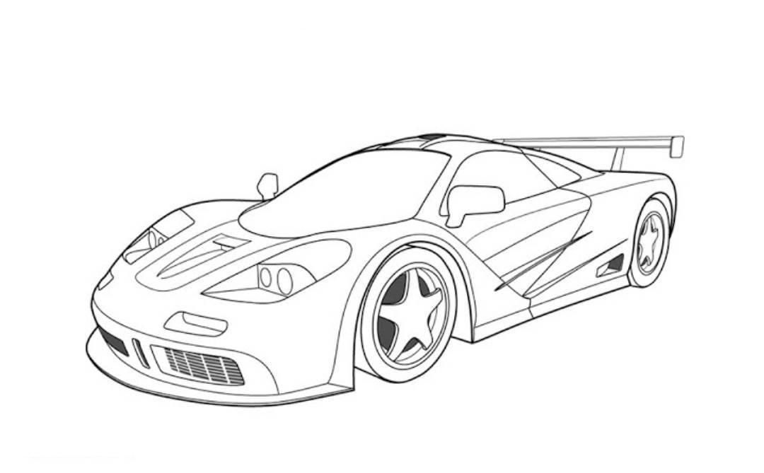 gta 5 cars colouring pages