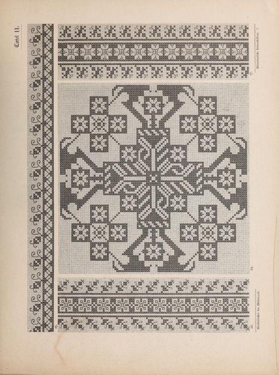 (5) Gallery.ru / Фото #46 - Musterbucher altitalienischer Leinen Stickerei 1881 - shtushakutusha