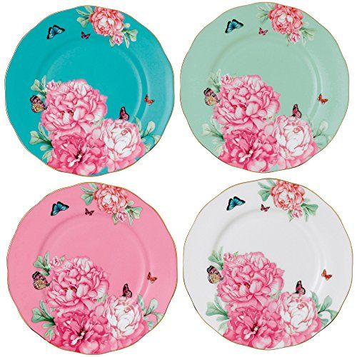 Royal Albert Friendship Accent Plate Designed by Miranda Kerr, 8-Inch, Set of 4 Royal Albert http://www.amazon.com/dp/B00K6790YO/ref=cm_sw_r_pi_dp_wNy0wb0R2X0AE