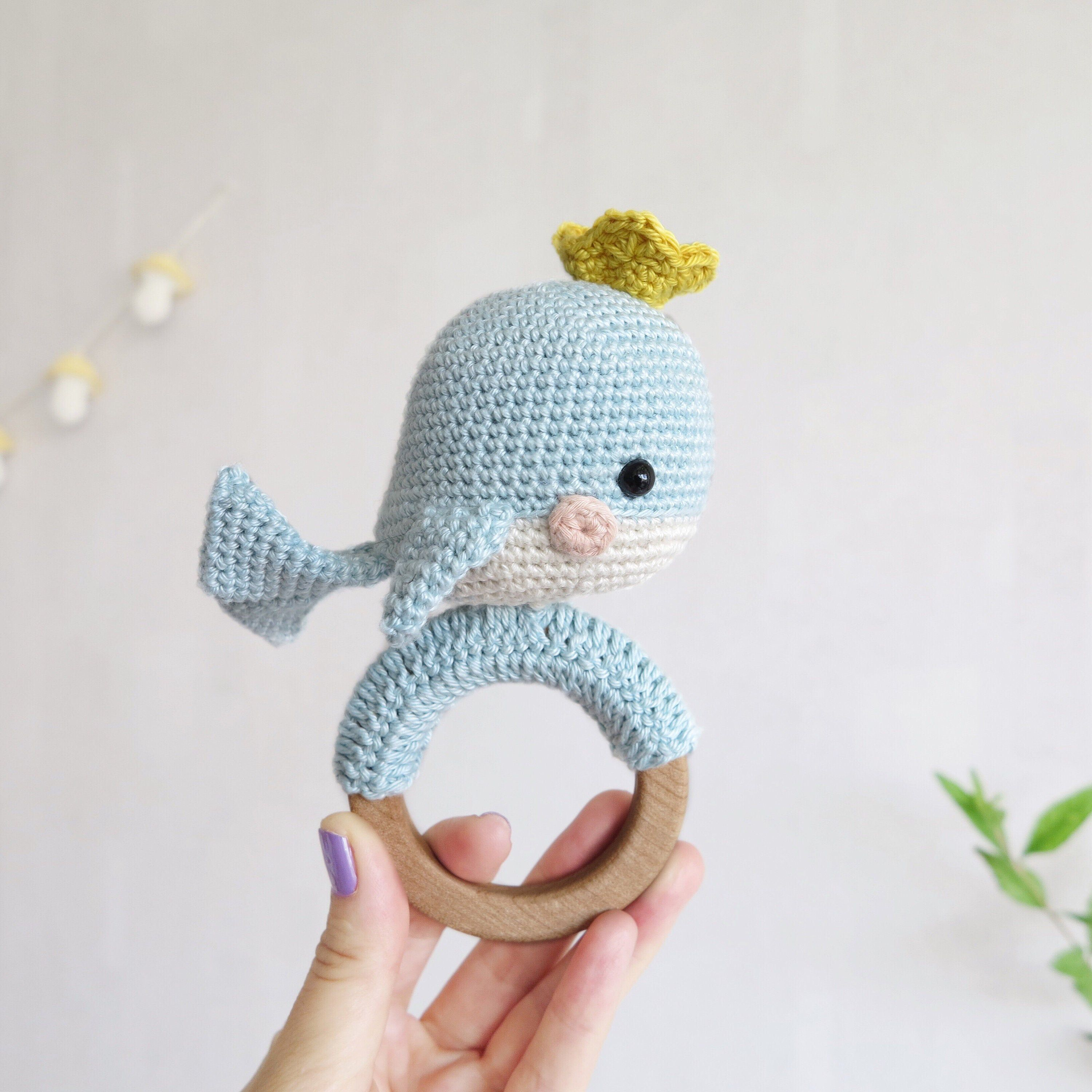 Walden the Narwhal (or Whale!) amigurumi pattern | hookabee | 3000x3000