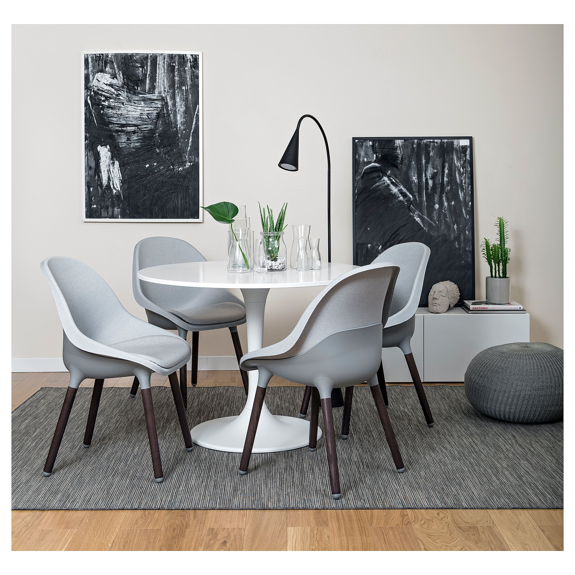 Comedor Ikea Ikea Baltsar Chair Light Gray Brown In 2019 Living Easy
