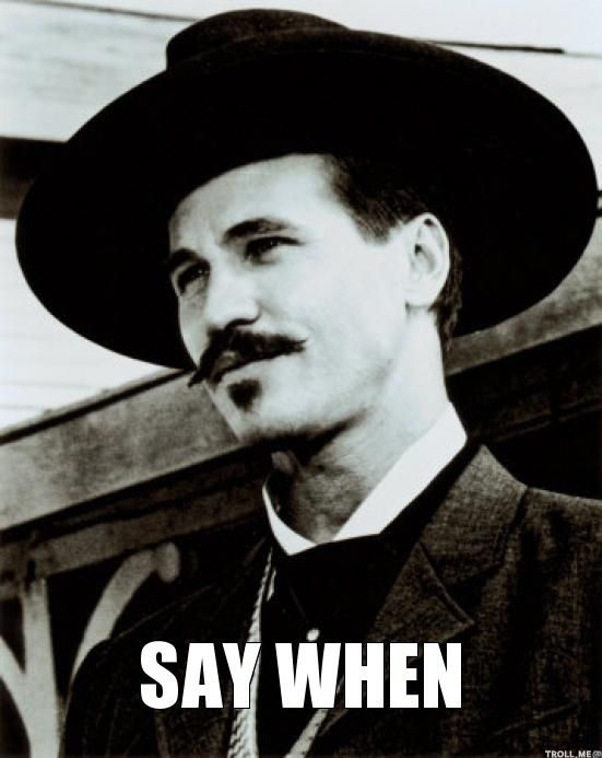 Image result for tombstone doc holliday memes