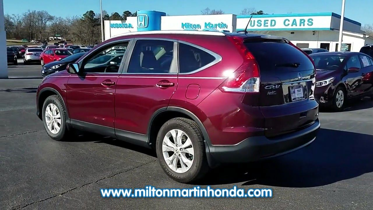 USED 2014 Honda CR V 2WD 5DR EX L At Milton Martin Honda #