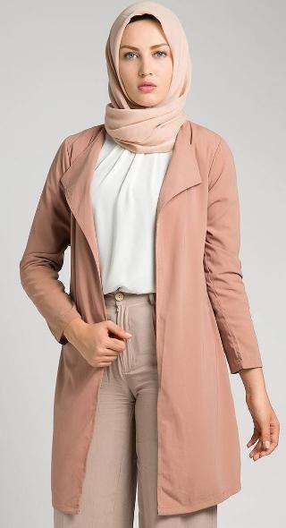 Pin By Indah Lestari Bordir On Blazer In 2019 Pinterest Muslim