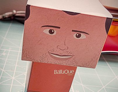 "Check out new work on my @Behance portfolio: ""Paper Toys Batuque"" http://be.net/gallery/51099185/Paper-Toys-Batuque"