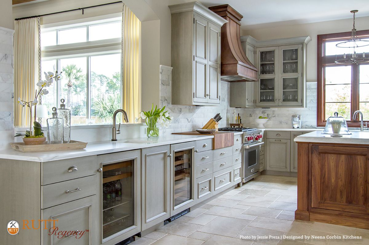 Abbey kitchens and bathrooms - Rutt Regency Cabinetry Abbey Door Design Nimbus Paint W Grey Antiqued Glaze