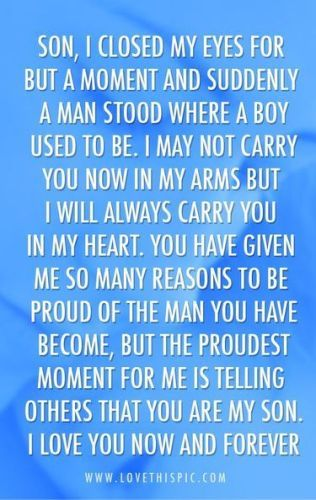father's day words to my husband