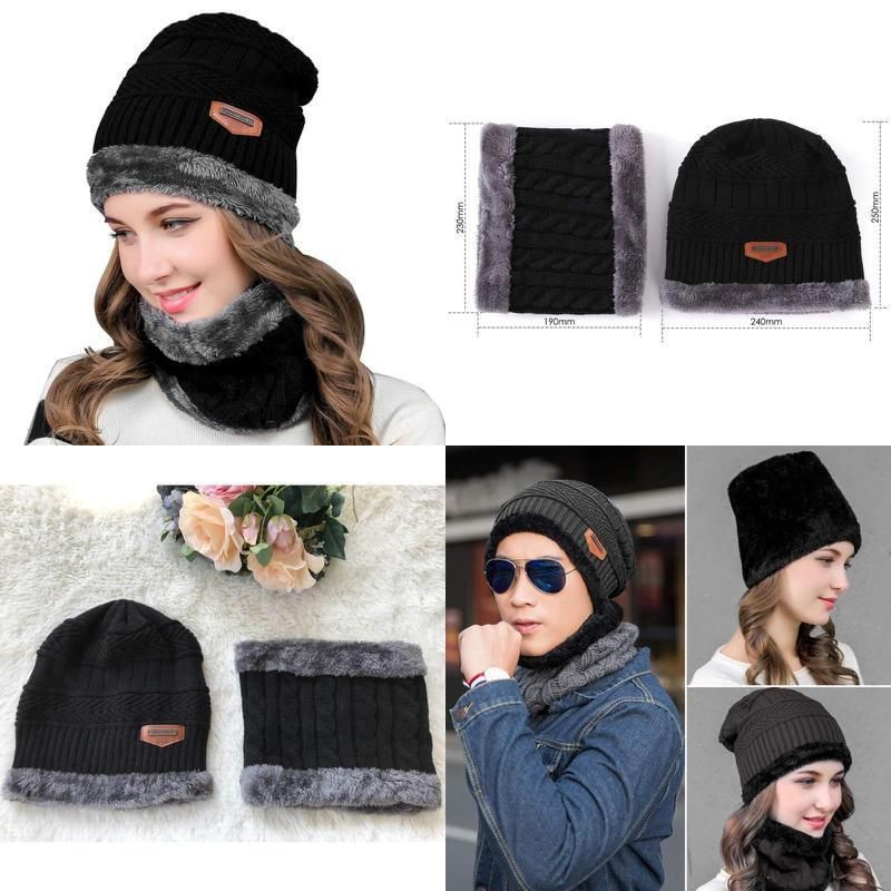 Winter Warm Knit Hat For Women Men Reversible Ski Cap Fleece Neck Warmer  Unisex  fashion  clothing  shoes  accessories  mensaccessories  hats (ebay  link) d441768542b