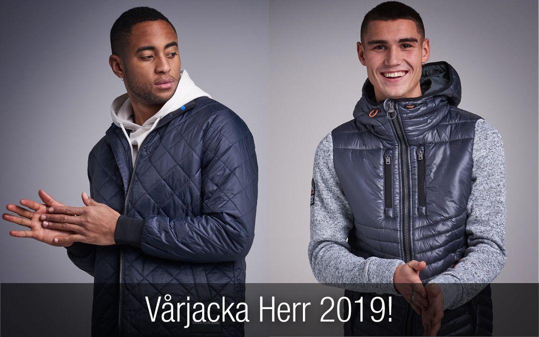 f5e37b1c58d Vårjacka Herr 2019. Snygga trendiga jackor du inte får missa! Det här är  nyheter