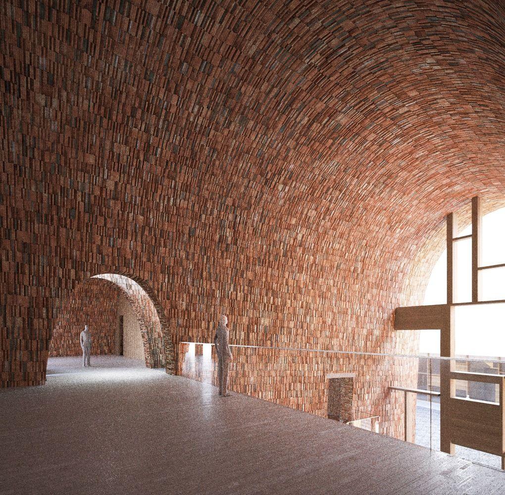 Galer a de studio pei zhu dise a un museo abovedado inspir ndose en antiguos hornos de cer mica - Disena studio ...