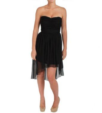 Lush Ruffled Dress in Black