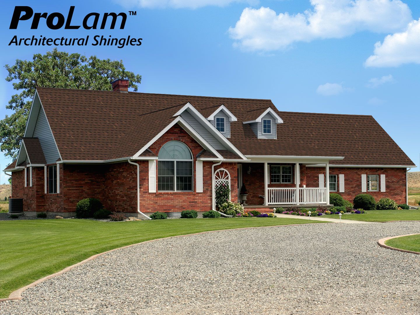 ProLam™ Shingles In Burnt Sienna Deliver The Designer Look Of An  Architectural Shingle At A