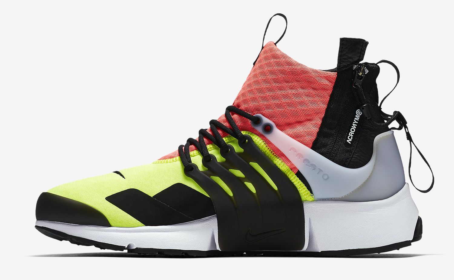 Release Date and Where to buy Acronym x NikeLab Air Presto Mid