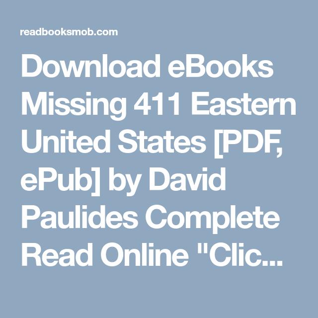 Missing 411 Pdf