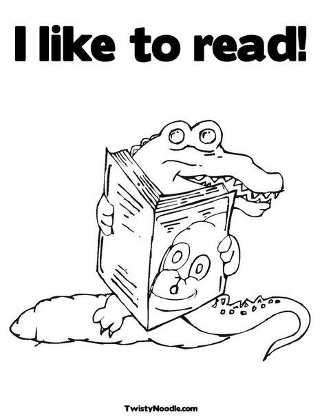 animals reading books print this coloring page itll print full