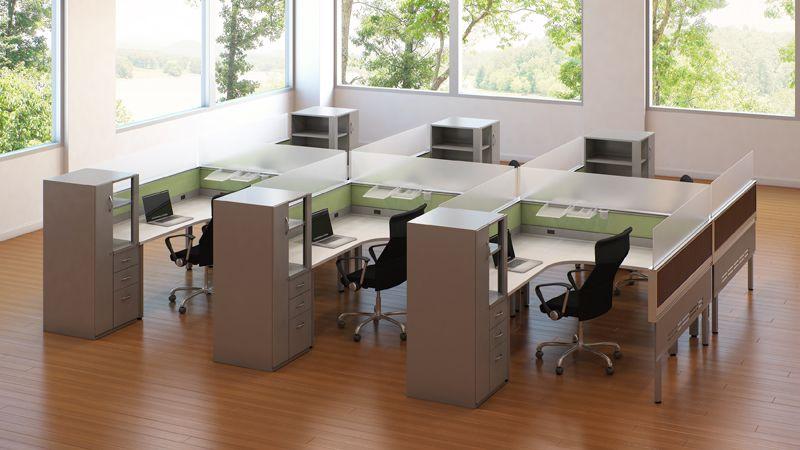 Superb Modern Workstations | Cubicles #Technology #Atlanta Competitive Rates  Enwork_grid_14 (800×