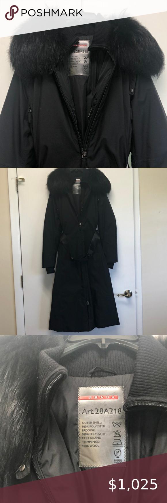 Prada Long Coat Long Coat Prada Coat Coat [ 1740 x 580 Pixel ]