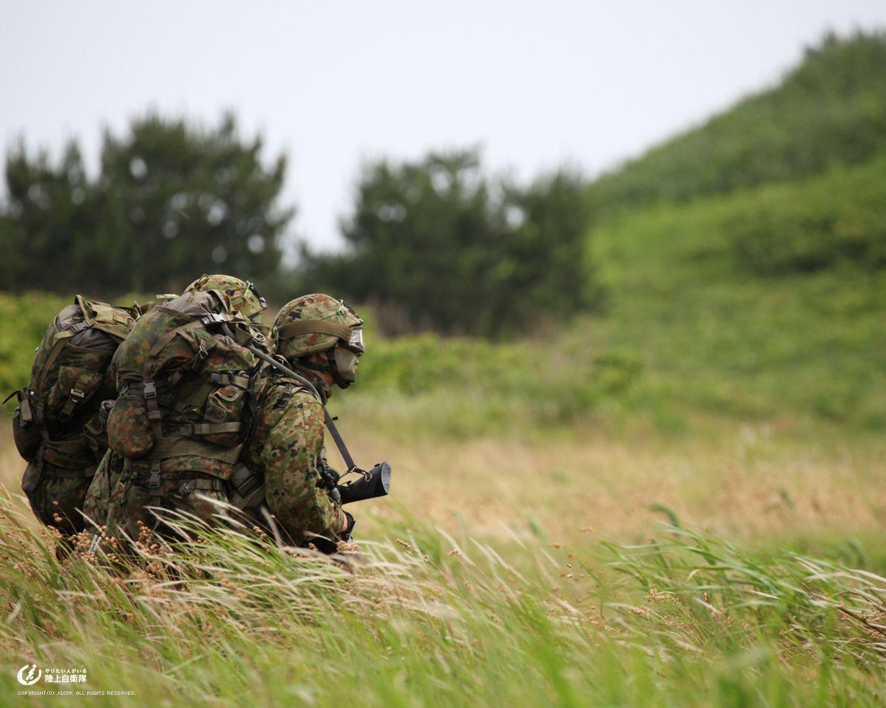 防衛省 自衛隊 防衛省ウェブサイトのhttpsへの切り替えのお知らせ 陸上自衛隊 兵士 ミリタリーアート