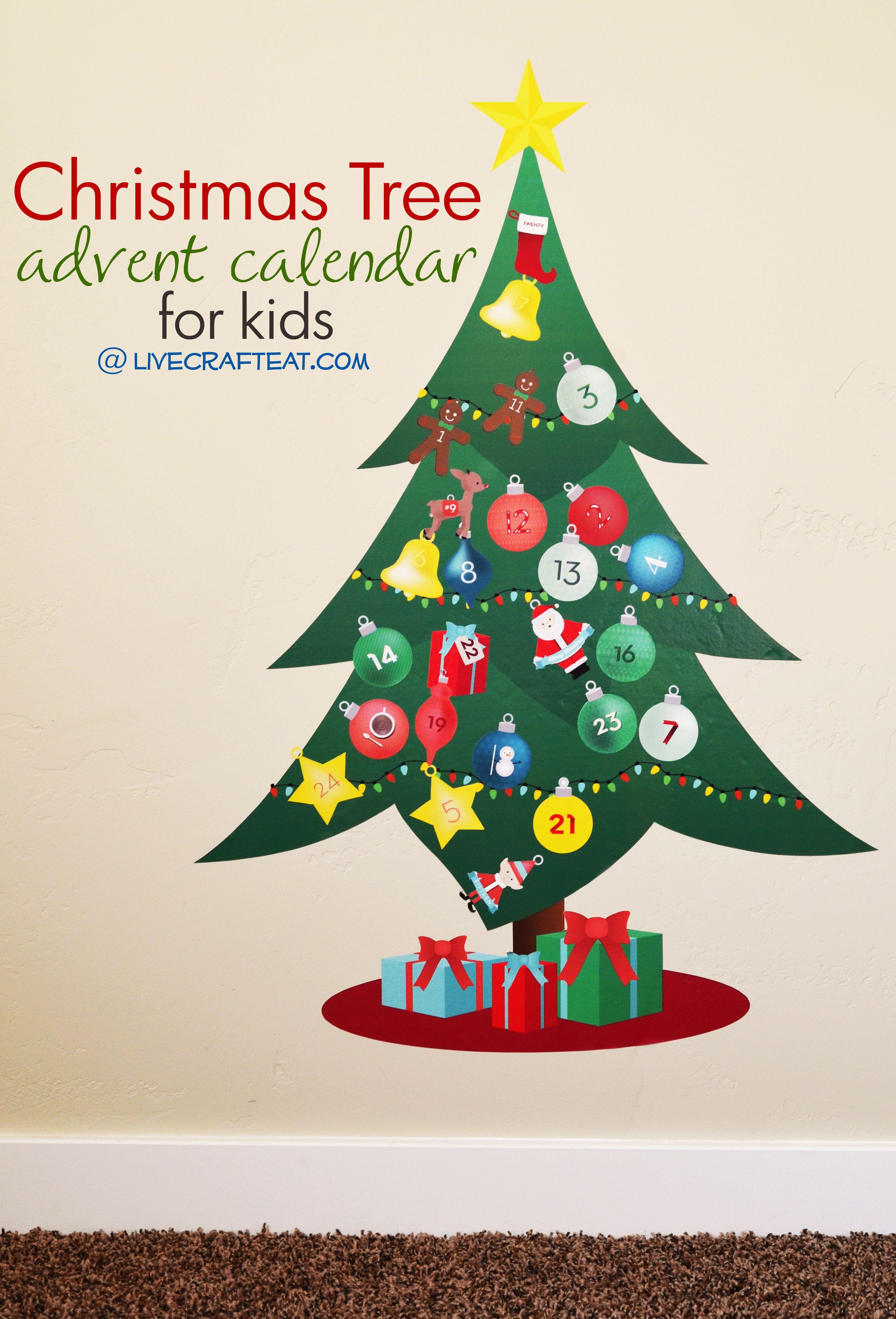 Vinyl Christmas Advent Calendar For Kids