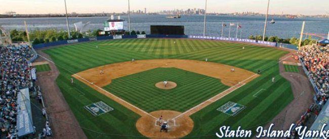Richmond County Ball Park Richmond County Staten Island Yankees Baseball