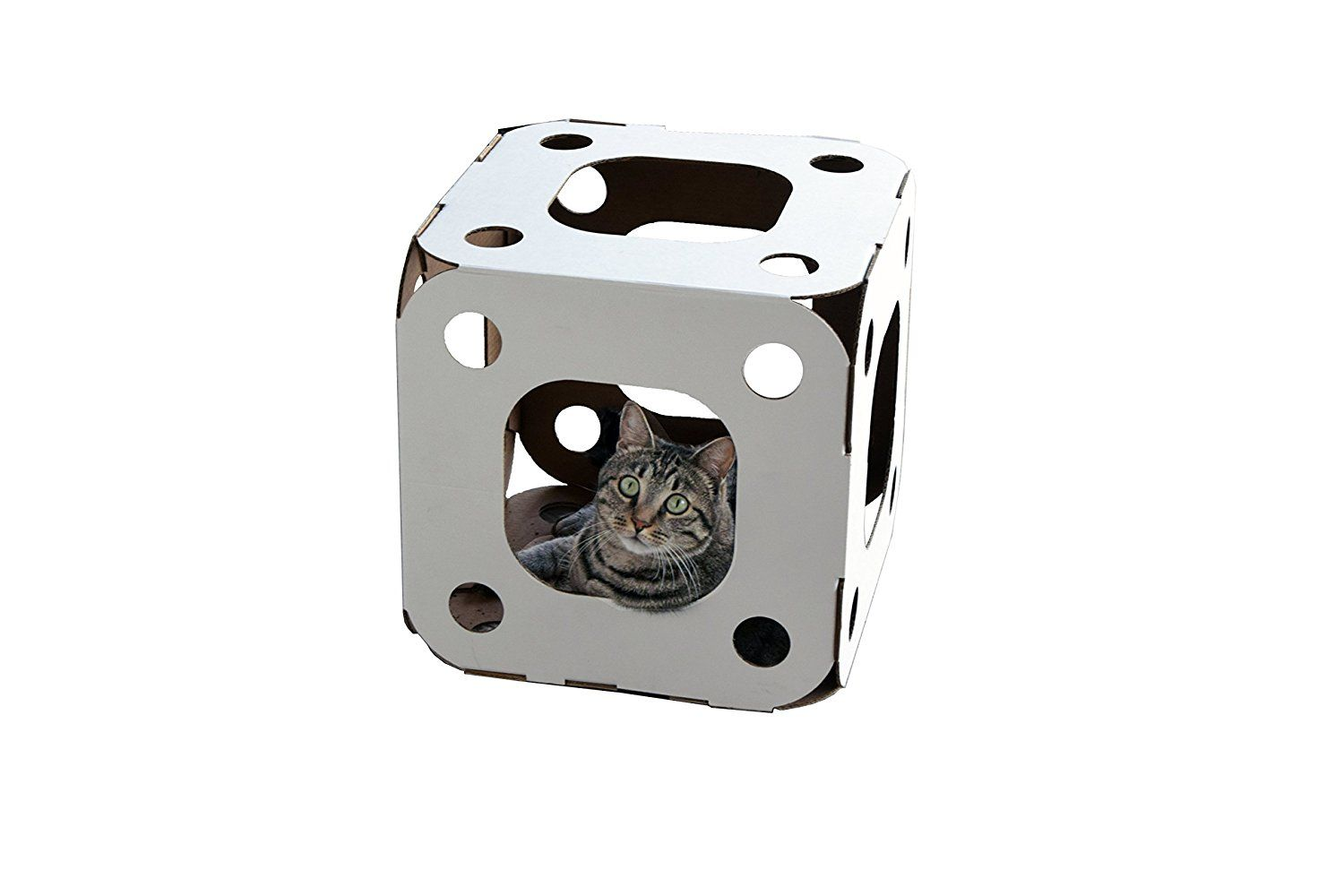 Cat Cove Corrugated Cat Box 9White) >>> To view further for this item, visit the image link. (This is an affiliate link and I receive a commission for the sales)
