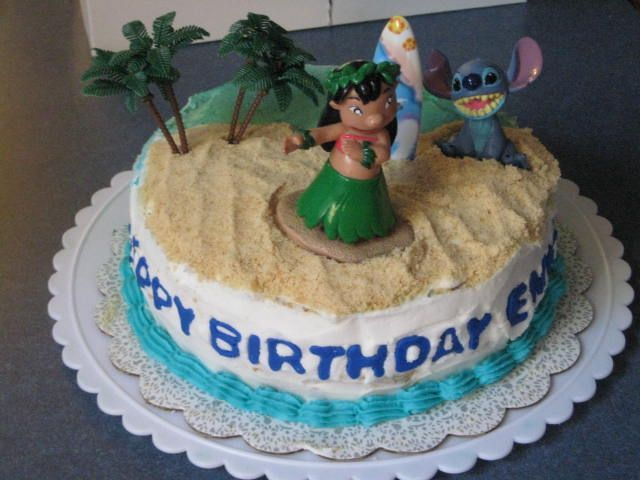 Lilo And Stitch Cake Addicted To Baking Pinterest Stitch Cake