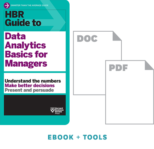 HBR Guide To Data Analytics Basics For Managers Ebook