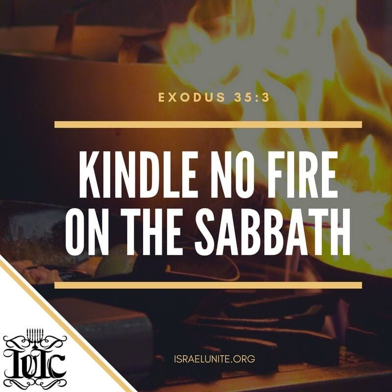 We must keep the Sabbath Day holy  No cooking on the sabbath! Learn