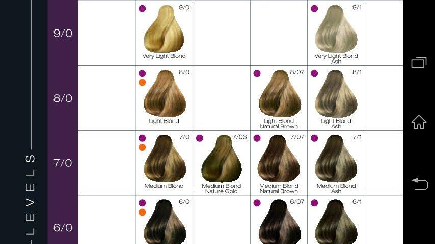 Kadus Colour Chart Kadus Colour Pinterest Colour Chart