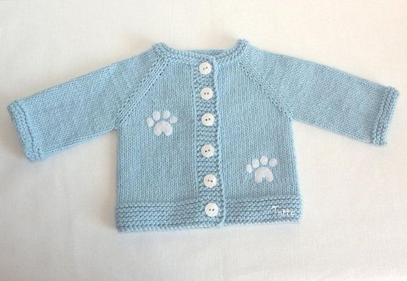 Knitted blue baby set, hat and jacket MADE TO ORDER #outfitswithhats