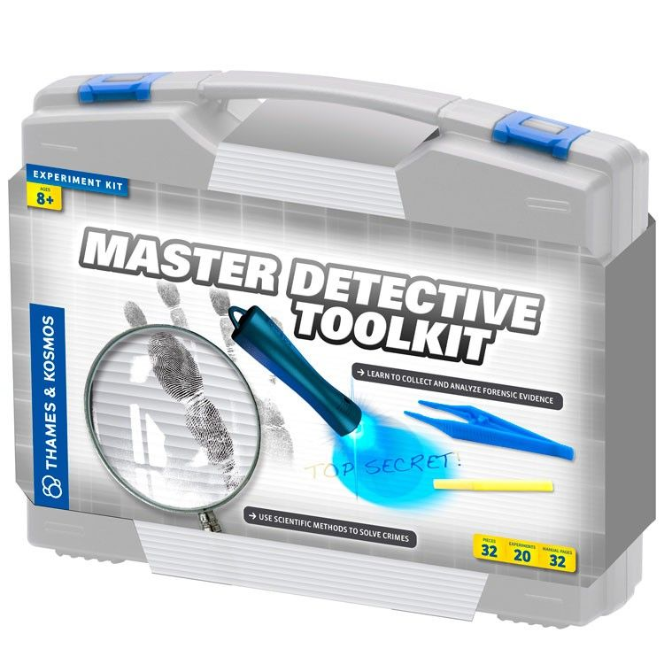 Master Detective Toolkit Forensic Science Kit Science Kits Science Experiment Kits Forensic Science