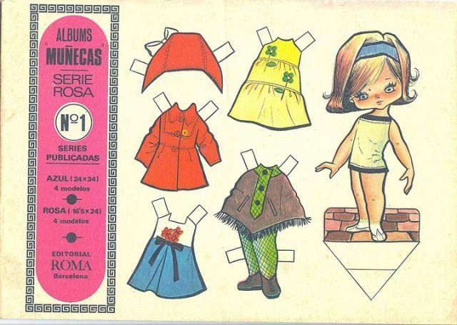 Muñecas recortable Edit.Roma 1