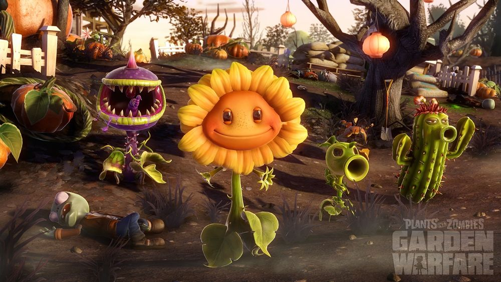 Image From Plants Vs Zombies Garden Warfare Sunflower Wallpaper Plants Vs Zombies Plant Zombie