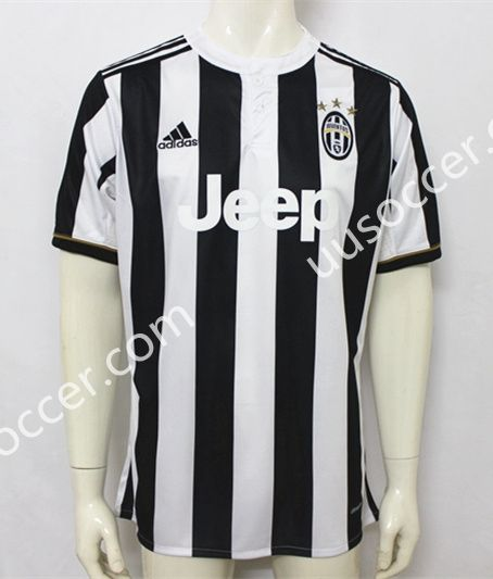 Jersey White Juventus Thailand Home Soccer AAA Black 201718 qzZYUwxSS