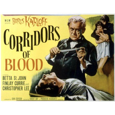 Corridors Of Blood Canvas Art - (28 x 22)