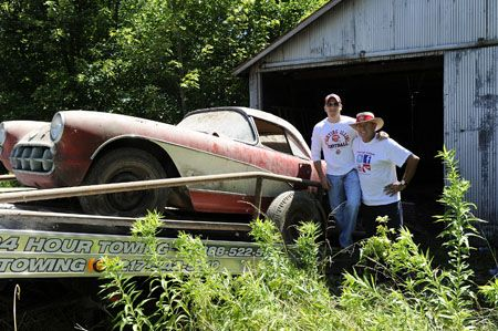 Old Texas Barns For Father Son Barn Find Cars Weekly