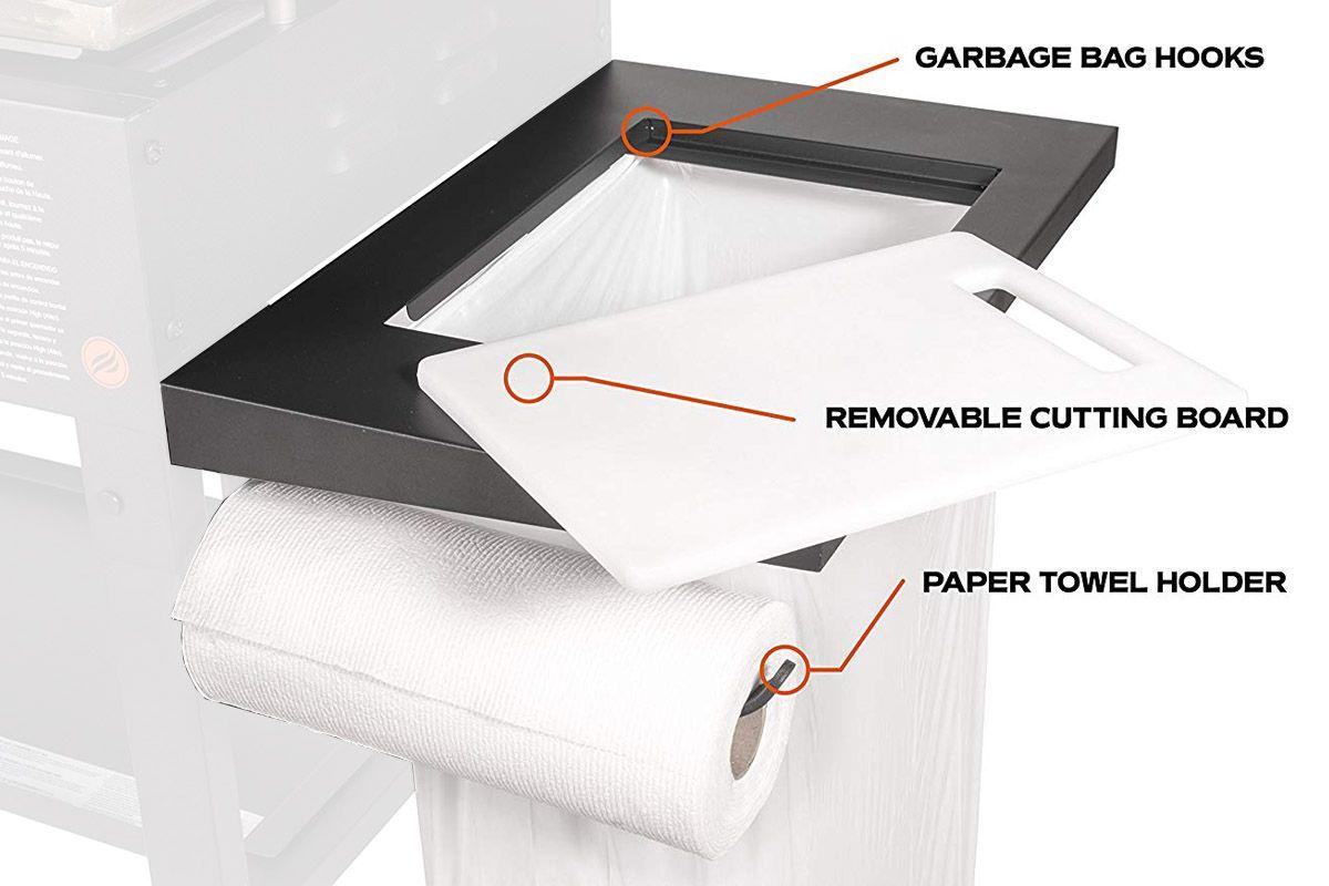 36 Griddle Accessory Side Shelf Blackstone Griddles Paper