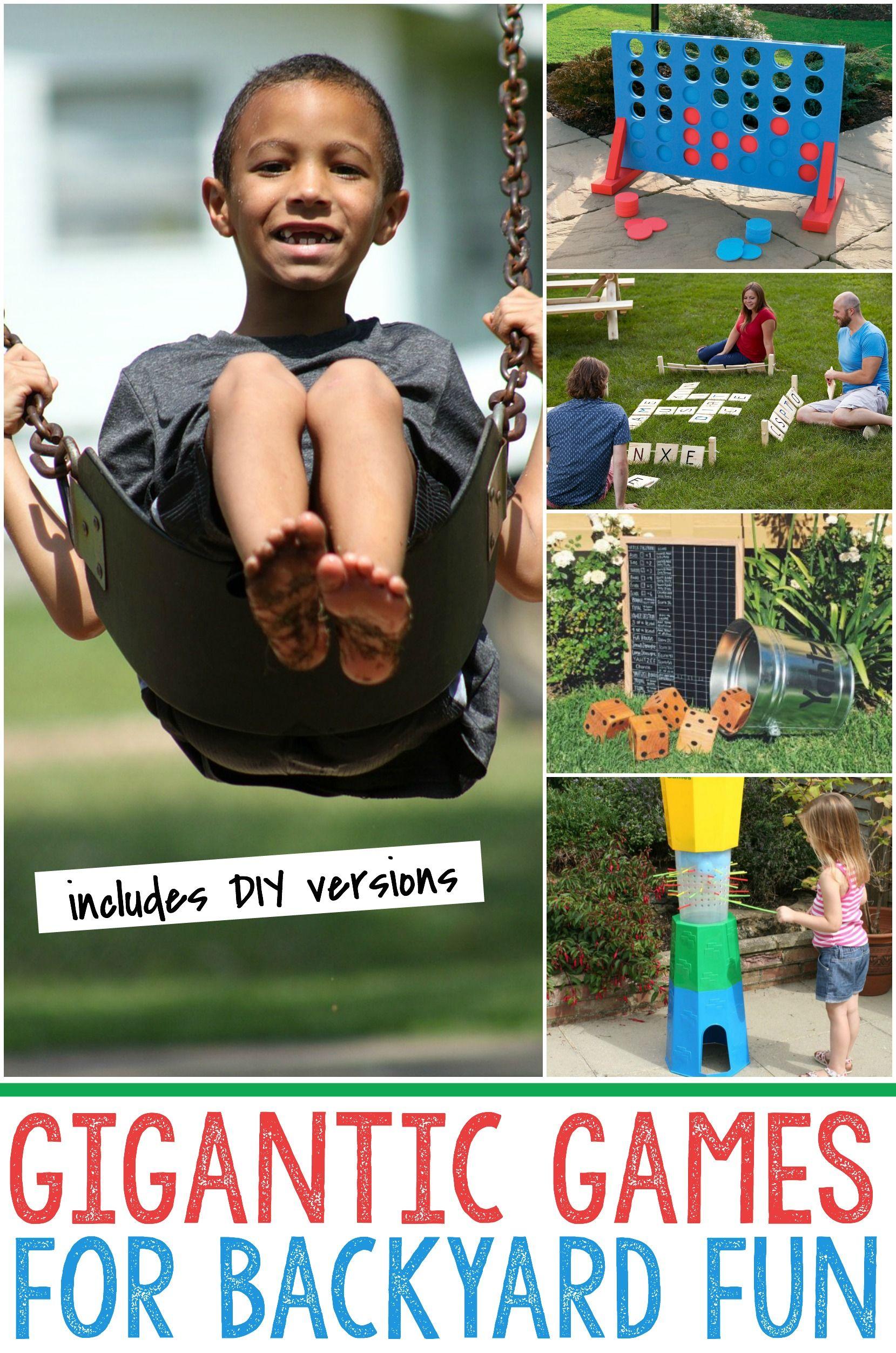 backyard games for summer babies